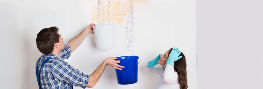 trouver une fuite d'eau